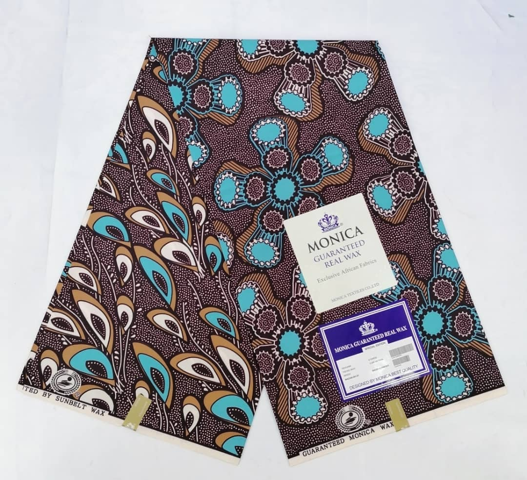 Proudly African style Monica wax